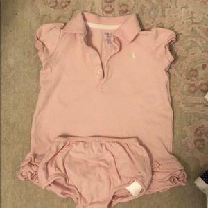 6 month baby girl Ralph Lauren dress